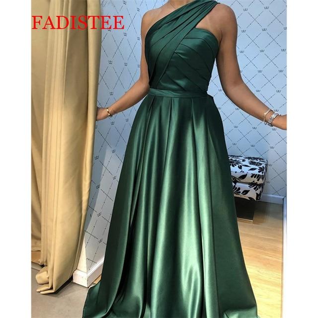 2021 Spring Evening Dress Bodice Vintage Formal Gown Vestido De Festa Prom Dress коктейльные платья Muslim long one shoulder 1