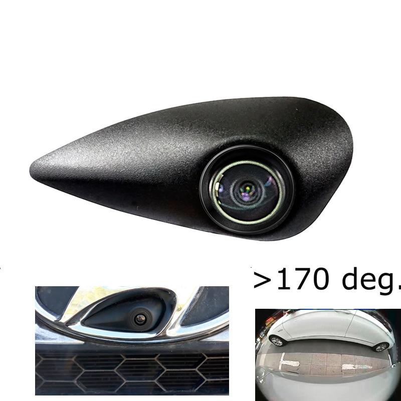 180 derece sonyccd HD araç logo işareti kamera Hyundai ön logo gömülü kamera gece görüş IP68 su geçirmez
