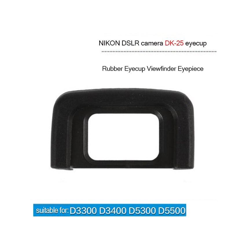 Nueva Nikon Ocular Ocular Ojo Copa DK-25 para D5500 D5300 D5200 D3300 D3200 Cámara