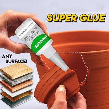 1 sztuk mocny klej Uniglue uniwersalny Super klej przenośne własny klej samoprzylepny Mulitfunctional Super klej klej do naprawy szybkoschnące klej tanie i dobre opinie CN (pochodzenie) Metalworking Uniglue Universal Super Glue dropshipping