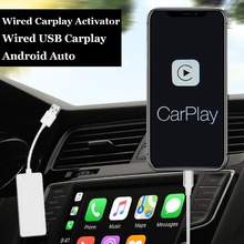 Dla Apple Wired CarPlay Dongle dla androida odtwarzacz nawigacyjny Mini USB Carplay adapter Stick Android Auto radio