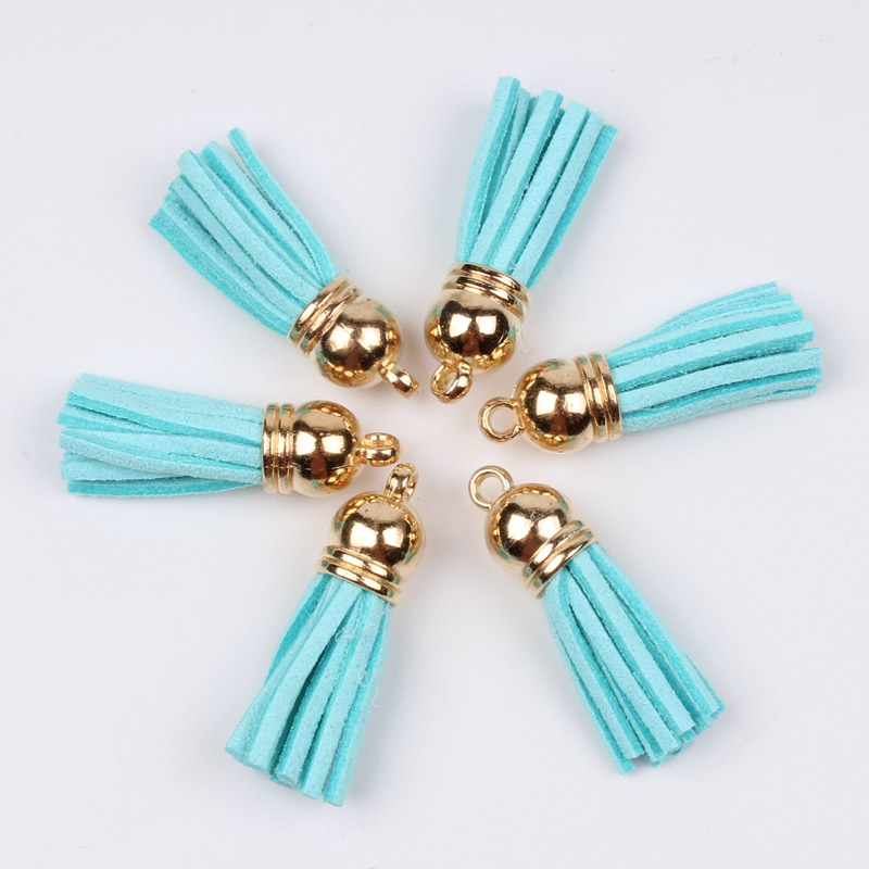 DIY 4pcs 3 layer tassels Pendant Rayon Handmade earrings jewelry Accessories