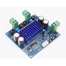 XH A308 bluetooth 5.0 tpa3116 placa amplificador de potência digital 2x50w áudio estéreo módulo amplificador tpa3116d2
