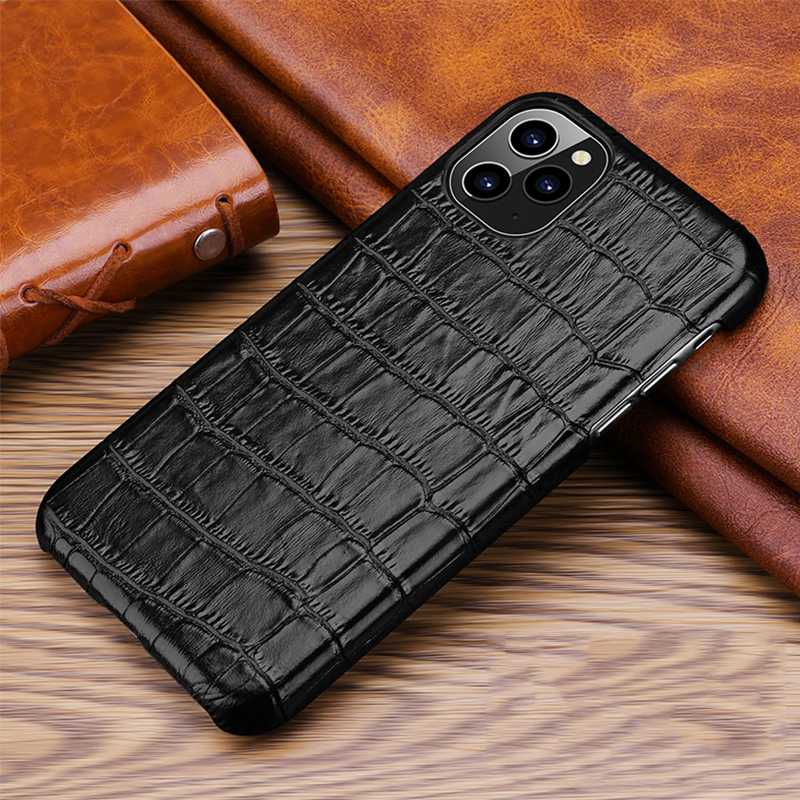 Luxury Genuine Cow Leather Case For iPhone 12 Pro Max  7