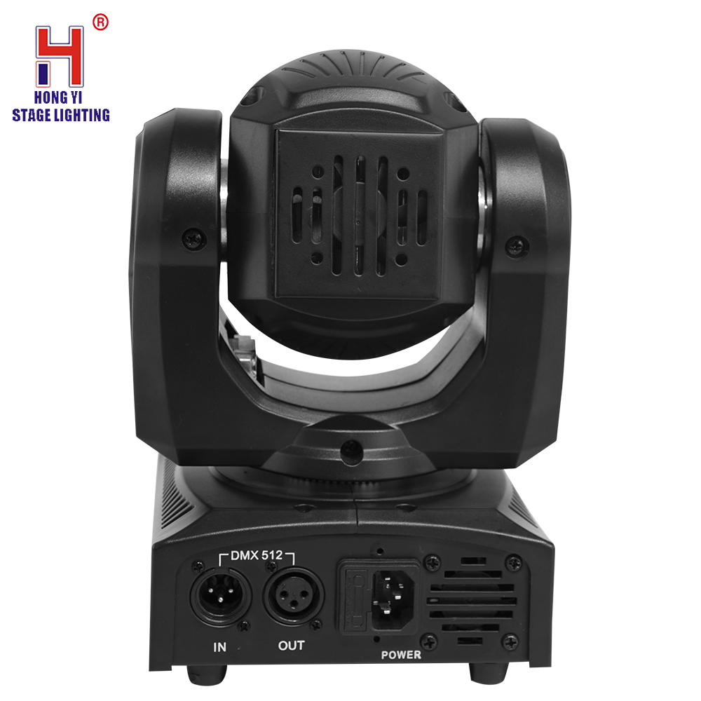led mini moving head 30W sport light with 7 gobos lights moving di lighting effect - 2