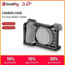SmallRig אלומיניום סגסוגת מצלמה כלוב עבור Sony A6500/A6300 גרסה משודרגת מגן Dslr אסדת מצלמה עבור Sony A6500  1889