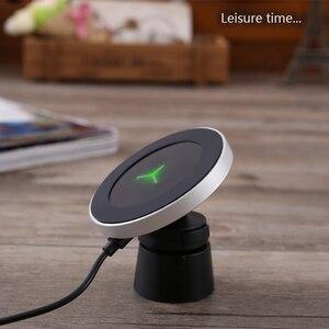 Image 4 - Qi Sans Fil Chargeur De Voiture pour Samsung S9 S8 Note9 Support De Téléphone Magnétique 10W rapide Sans Fil Chargeur de VOITURE Pour iPhone Xs XsMax Xr 8Plus