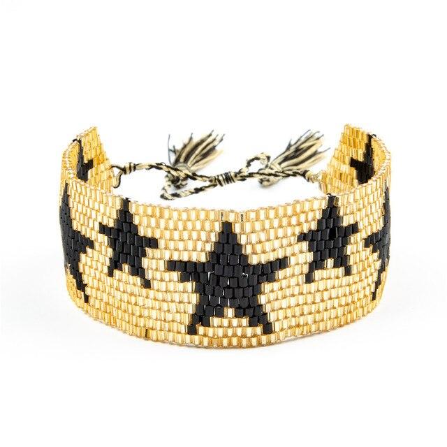 Bracelet Brésilien Or