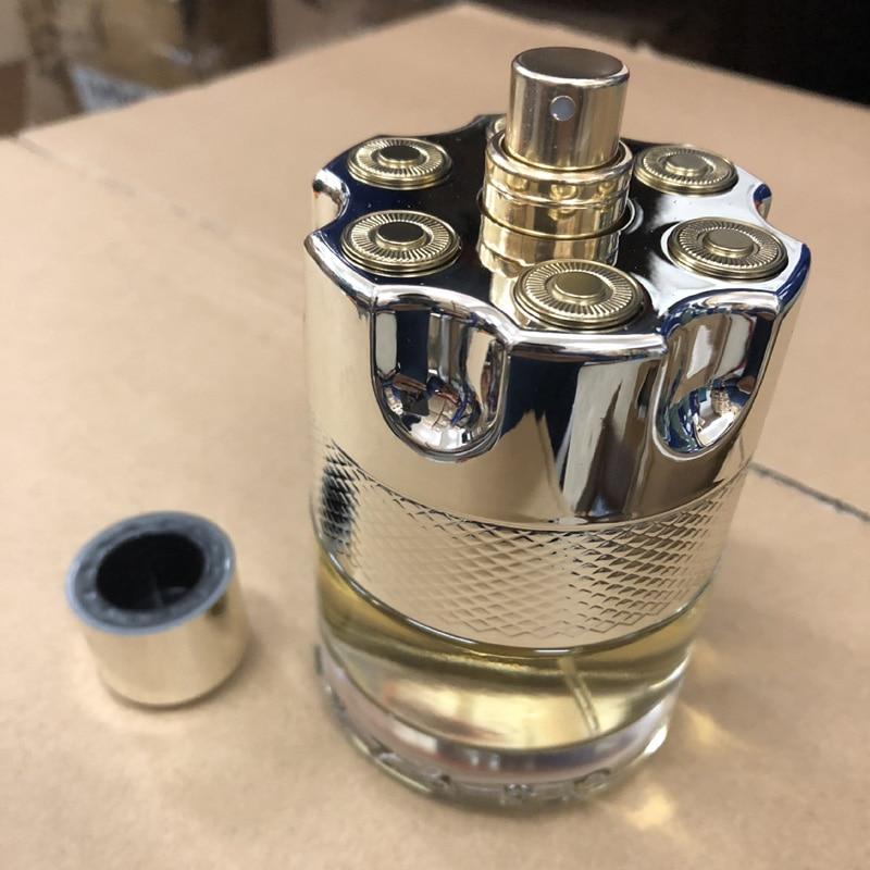 LAIKOU Perfume Men 100ML Bullet Glass Bottle Male Parfum Long Lasting Fragrance Spray Copy Original Cologne Gentleman Atomizer