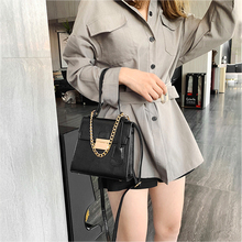 Mini Fashion Shoulder Bag Pu Leather Trend Small Square Bag Portable Design Solid Color Casual Messenger Bag New Leather Bag цены