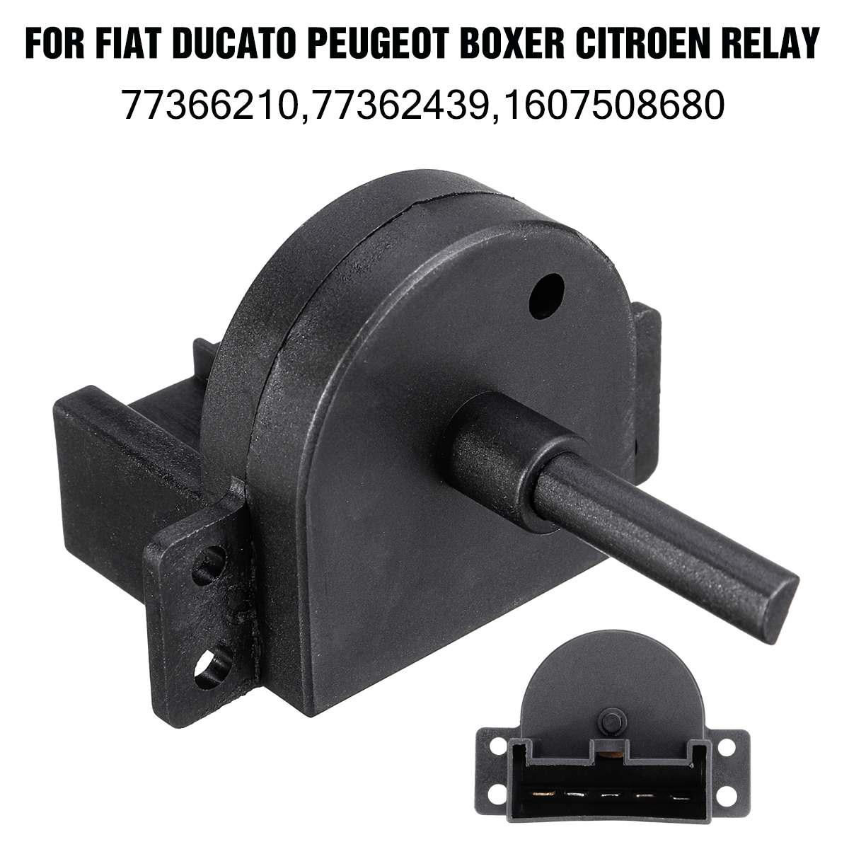 Car Heater Blower Fan Switch For Fiat Ducato For Peugeot Boxer For Citroen Relay Jumper 2006- 77362439 77366210 77367027