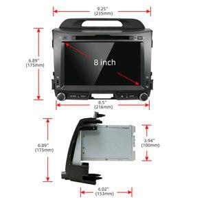 Image 3 - Bosion 32 2G + G Android 10.0 DVD player Do Carro KIA sportage r 2011 2012 2013 2014 2015 carro de rádio unidade de cabeça de navegação gps som do carro