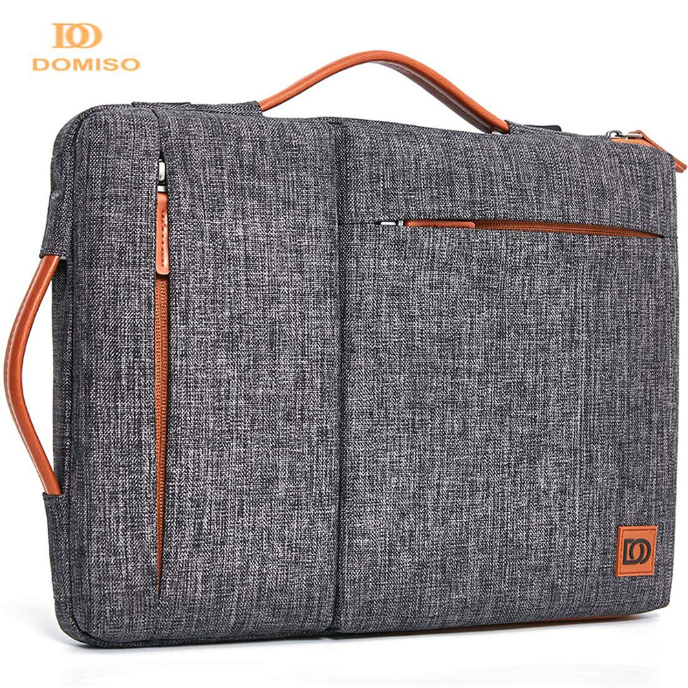 DOMISO Multi-use Strap Laptop Sleeve Bag With Handle For 10