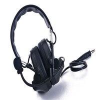 FOR COMTAC III Helmet fast rail bracket version Silicone earmuff version Noise reduction pickup headset CB