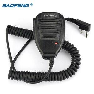 Image 3 - الأصلي Baofeng رئيس هيئة التصنيع العسكري ميكروفون PTT ل المحمولة اتجاهين راديو اسلكية تخاطب BAOFENG 888S C1 UV 5R UV 5RE UV 5RA UV 6R