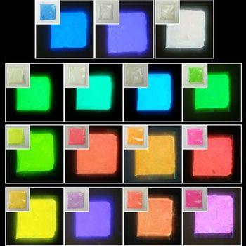 Glow in the Dark Resin Pigment Luminous Powder UV Resin Epoxy Jewelry Making uv reactive glow in the dark pigment powder long afterglow yellow green invisible white 1000 g with maximum brightness