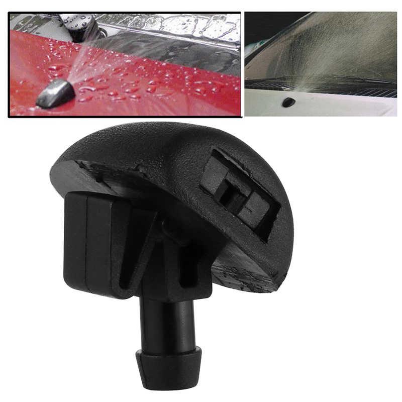 2 uds., gafas y ventanas, suministros delanteros para coches, limpiador de PULVERIZADOR DE AGUA, boquilla para lavadora a chorro 206/207/407