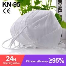 Ffp2 mascarillas ffp2 máscara n95 mascarilla fpp2 homóloga branco kn95 reutilizável cinco camadas máscara à prova de poeira mascarllas fpp2