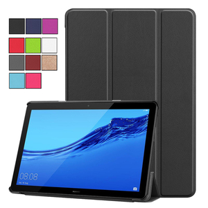 "Tablet Case for Huawei MediaPad T5 10.0 Magnetic PU Leather Cover for Huawei Media Pad AGS2-W09 AGS2-L09 AGS2-L03 AGS2-W19 10.1""(China)"