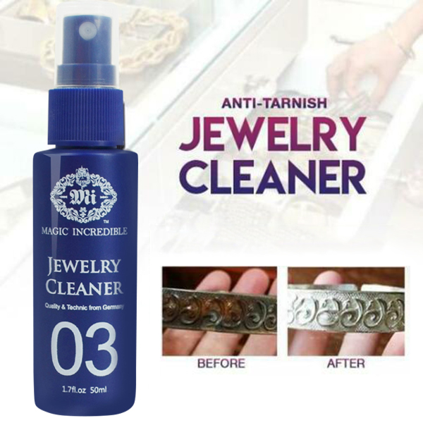 Newly 1/2/3pcs 50ml Jewelry Cleaner Jewelry Gold Watch Diamond Ring Cleaning Spray MK|All-Purpose Cleaner| |  - title=