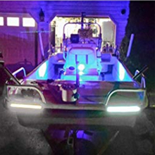 2x 12V Boaton Marine LED Lights Boat Deck Light Stern Lights Interior Lights for Boat Kakay Dinghy Pontoons Yacht