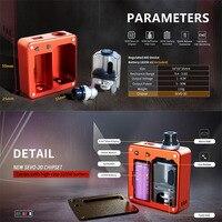 Original SXK Bantam Box revision 2ml/5ml capacity 5w 30w 18350 Mini Box Mod MTL Pod System AIO Starter Vape Kit Ecigarette