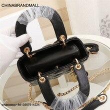 Luxury Brand Tote bag Lambskin Metal Buckle Rhombic New