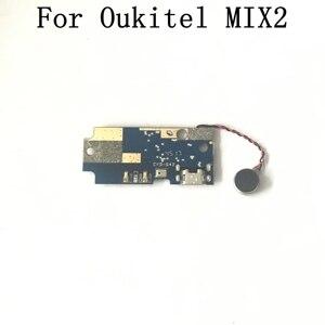 Image 2 - Oukitel MIX 2 Verwendet USB Board + Vibration Motor Reparatur Ersatz Zubehör Für Oukitel MIX 2 Handy