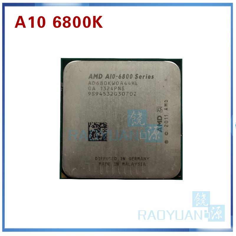 AMD A10-Series A10-6800K A10 6800 A10 6800K A10 6800B 4.1GHz Quad-Core CPU Processor AD680KWOA44HL/AD680BWOA44HL Socket FM2