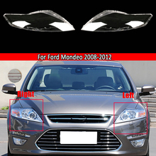 Car Front Headlight Lens Replacement Transparent Auto Shell For Ford Mondeo 2008 2009 2010 2011 2012 Headlamp Cover Lamp Shade