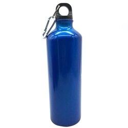Rower do jazdy na świeżym powietrzu czajnik górski lekki napój prosta kropla metalowa sportowa butelka na wodę niebieska stal nierdzewna 600Ml w Butelki sportowe od Sport i rozrywka na