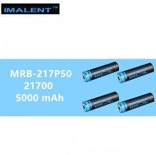 4 PCS IMALENT 21700 5000 mAh 15A ชาร์จ USB แบตเตอรี่
