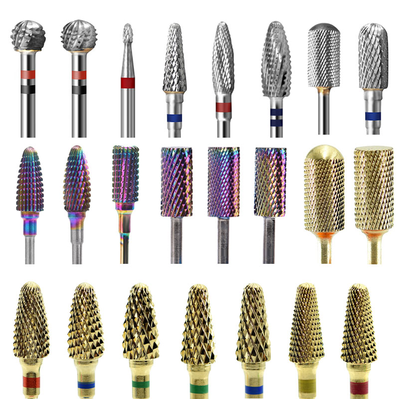 1PCS Nail Drill Bits Professional Manicure And Pedicure Electric Nail Milling Cutter Nail Bits For Electric Drill Ma