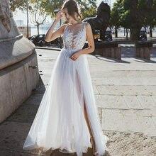 Платье женское пляжное в стиле бохо без рукавов