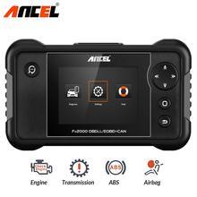 Ancel FX2000 OBD2 자동차 스캐너 ABS SRS 에어백 전송 엔진 진단 도구 OBD 2 자동차 전문 자동 스캐너 도구