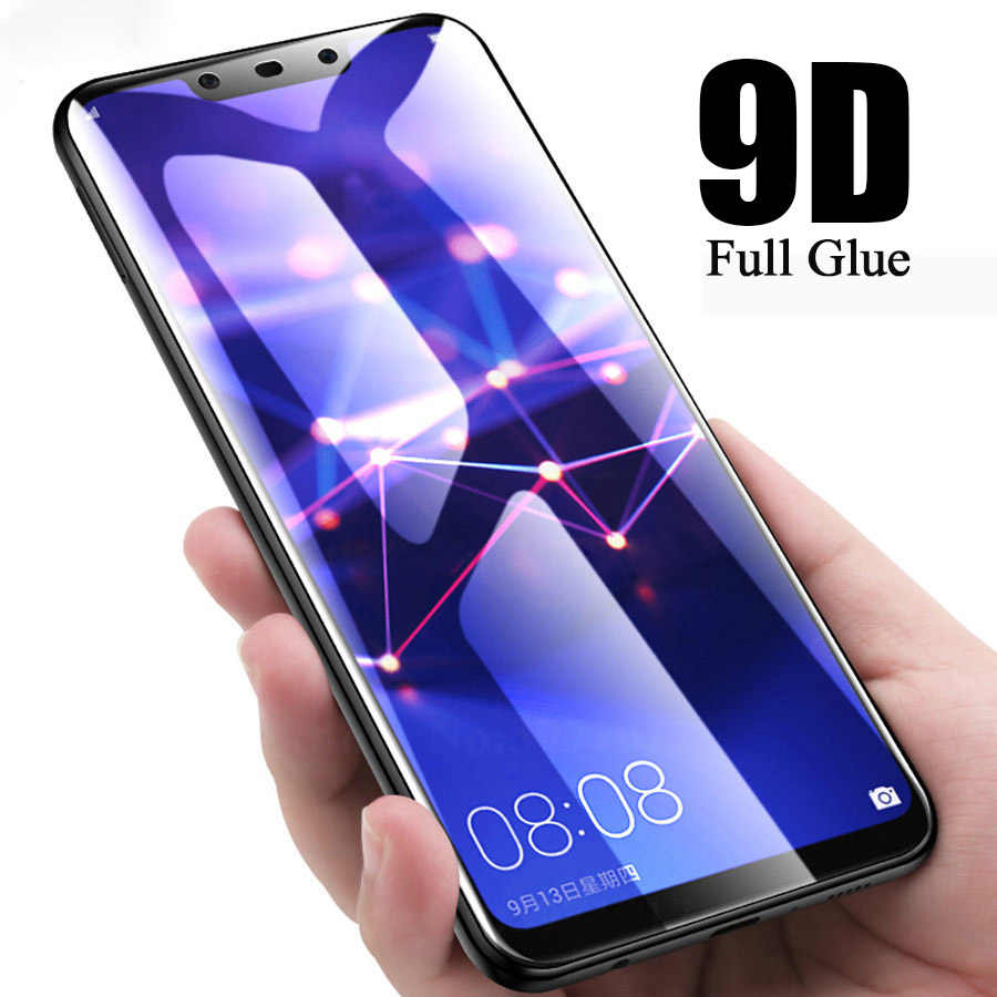 9D זכוכית עבור huawei honor 8x מזג גלאס על huawei p30 p 20 mate פרו 20 לייט אור honor 10 לייט 8x 8c 8a 8s מגן מסך