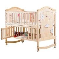 Meble dziewczyna sypialnia Letto Per Bambini dziecięcy maluch dziecko Kinderbed drewniany Chambre Enfant Kinderbett Kid łóżko dla dzieci na