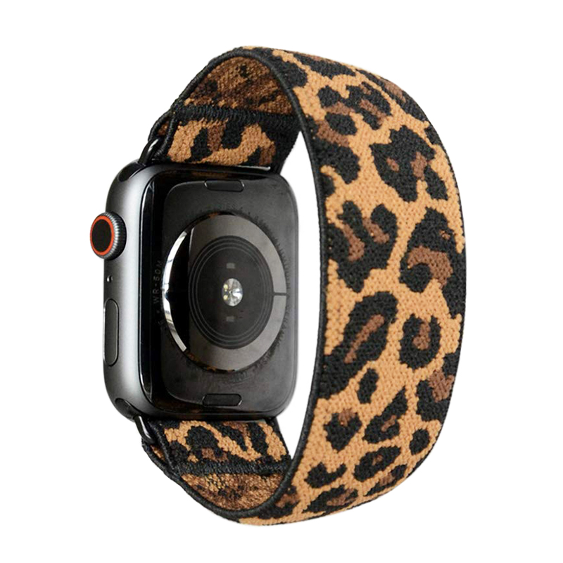 watch accessories strap for apple watch 5/4/3/2/1 iwatch apple watch band 38mm 40mm 42mm 44mm Double-Layer Stretchy nylon Loop