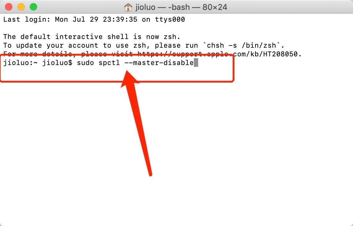 Mac安装软件时提示身份不明或已损坏,移至废纸篓怎么办?插图7