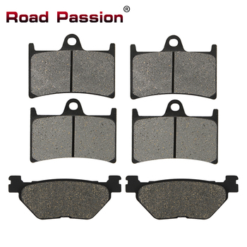 Road Passion Motorcycle Front Rear Brake Pads For YAMAHA XP530 Black Max XP 530 T-Max 530 TDM900 TDM 900 XT1200 Z FJR1300 XV1700 image