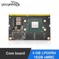 NVIDIA Jetson-Nano módulo B LPDDR4, 16GB, eMMC, inteligencia artificial, aprendizaje profundo, inteligencia artificial, inteligencia artificial, compatible con PyTorch, TensorFlow