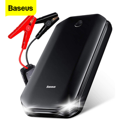Baseus Car Jump Starter Power Bank 12V Auto Starting Device 800A Car Booster Battery Jumpstarter Emergency Buster Jumper Start