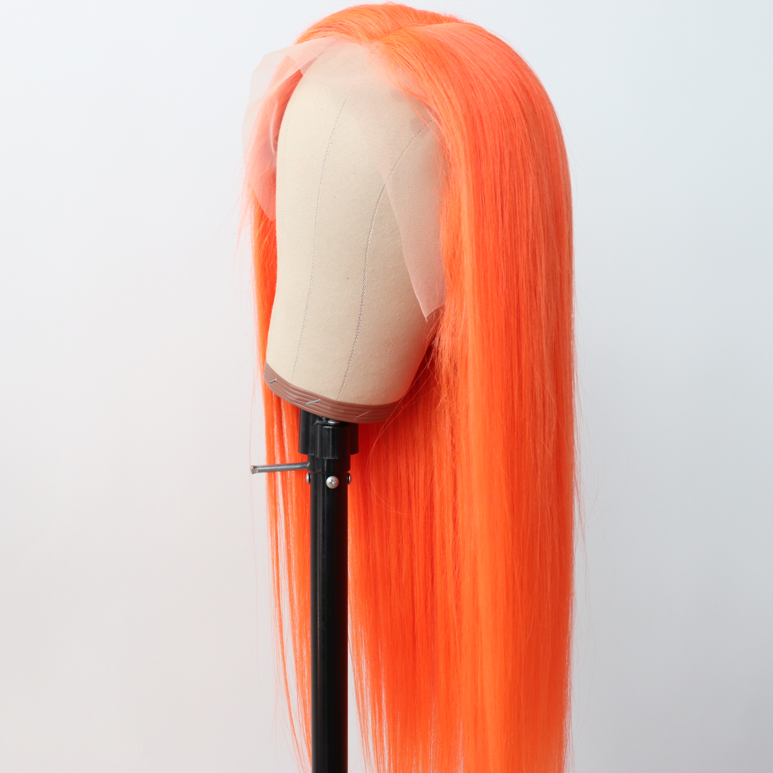 Real Straight Raw Brazilian  Colorful Human Hair Wigs For Black Women