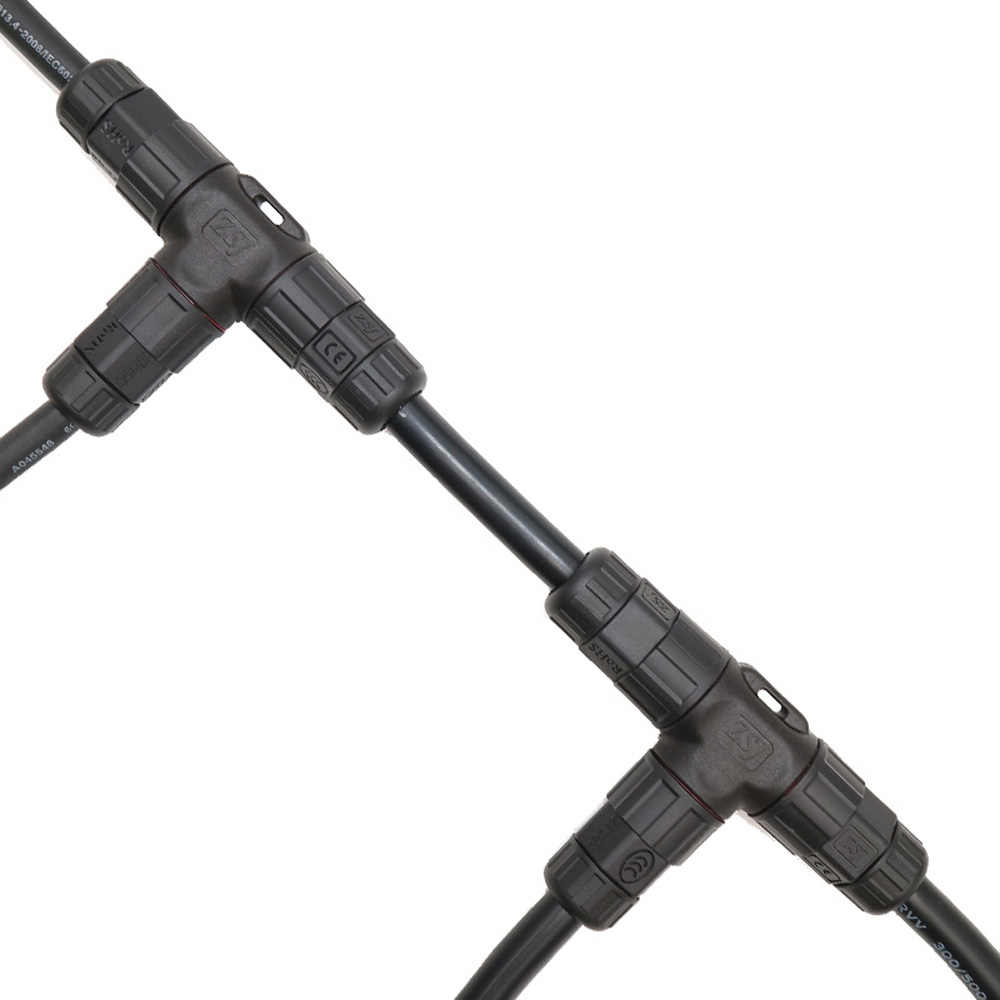 L25 IP68 kablo su geçirmez konnektör 6.0-kare milimetre su geçirmez konnektör 2PIN 3PIN 35A endüstriyel fiş I T X şekli