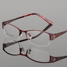 Элегантные женские ультралегкие очки в металлической оправе