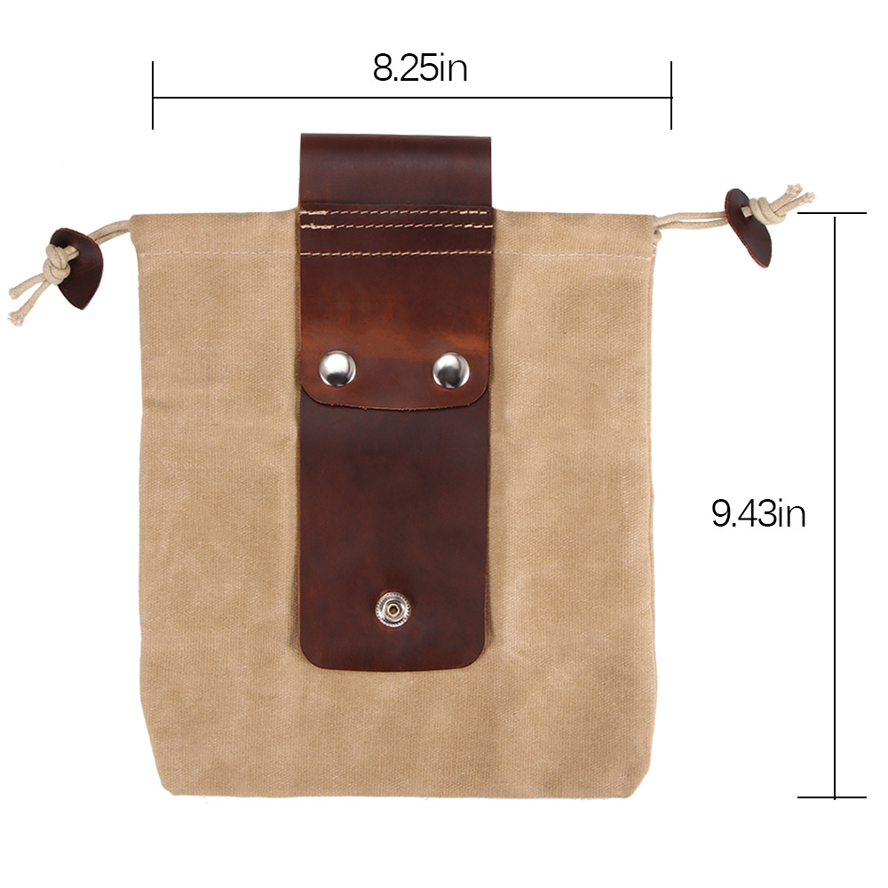 Folding Canvas Foraging Bag