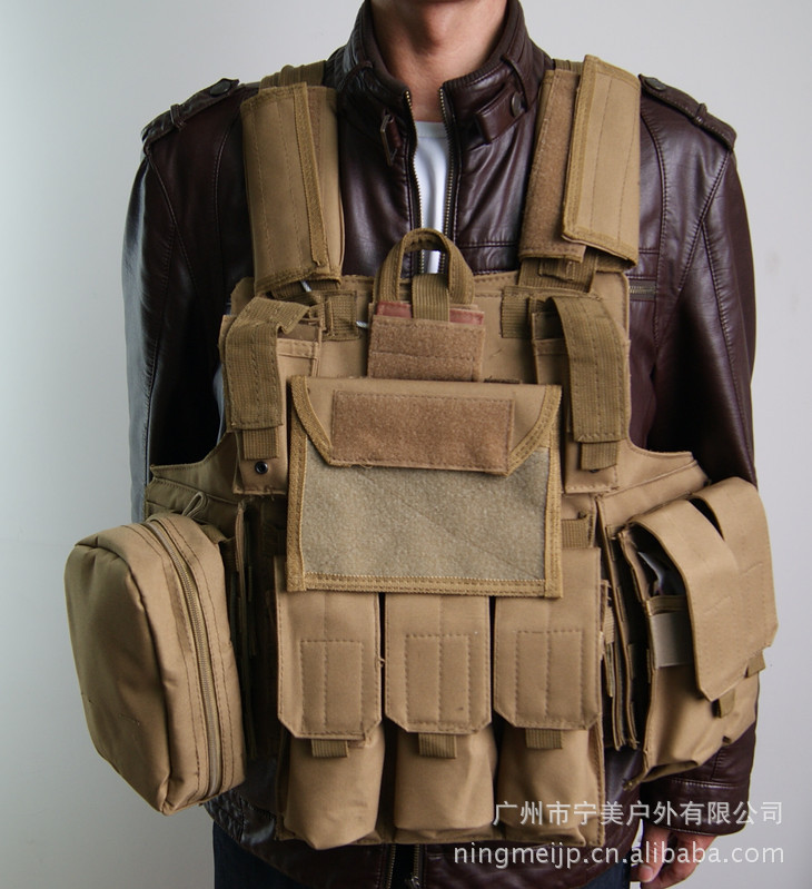 Steel Wire Ghost Camouflage Tactical Vest CS Field Operations Protection Equipment Amphibious Module Special Forces Combat Confr