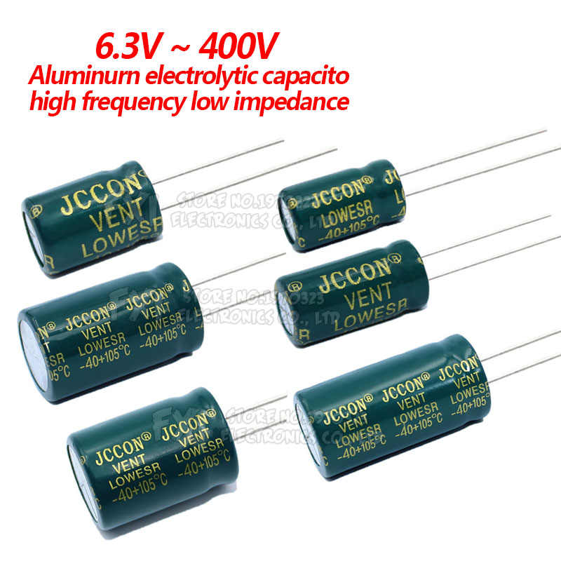 3 pieces Electrolytic Capacitor 33uf 25v 105 ° C Radial 7x7mm Elna