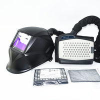 Welding Mask Powered Air Purifying Respirator Auto Darkening Welding Helmet Personal Protective Equipment Industry PAPR Kit