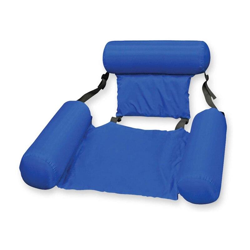 Cadeira inflável cama flutuante sofá rede de
